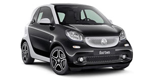 smart fortwo car hire bologna airport